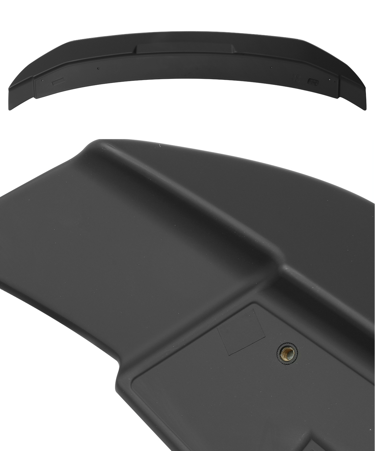 For 10-14 Ford Mustang Shelby GT500 Style Matte Black Rear Trunk Spoiler Wing
